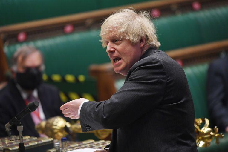 De Britse regering onder leiding van Boris Johnson investeerde al veel vroeger in het AstraZeneca-vaccin. Beeld EPA