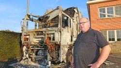 """Brand vernielt vrachtwagen van klank- en lichtbedrijf DNF Music: """"Zeven maanden geen werk gehad en dan komt dit er nog bij"""""""