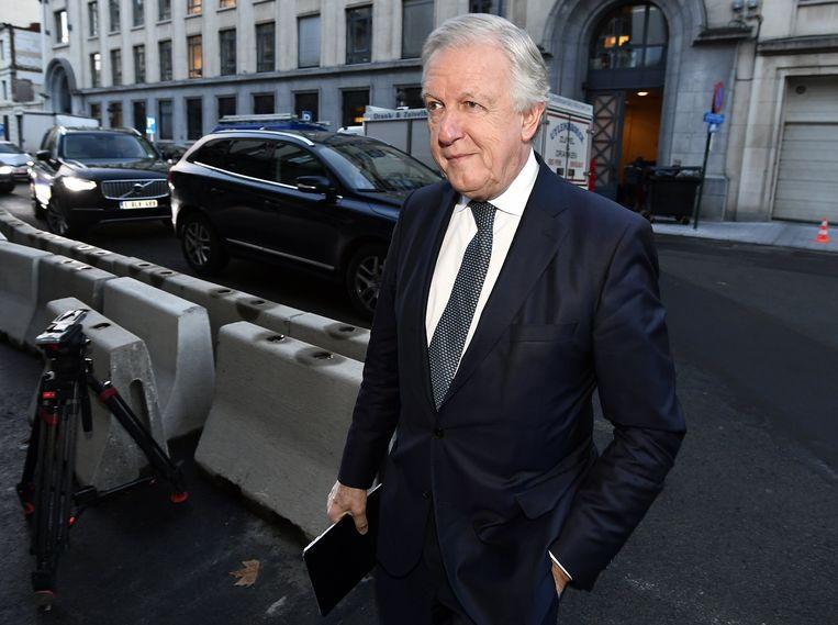 Pensioenminister Daniel Bacquelaine (MR) gelooft wel nog in het plan.  Beeld BELGA