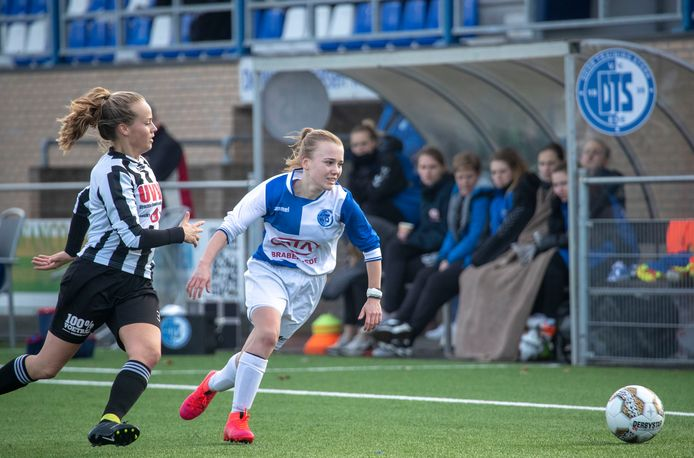 Eldenia op bezoek bij DTS Ede in de topklasse van het vrouwenvoetbal.