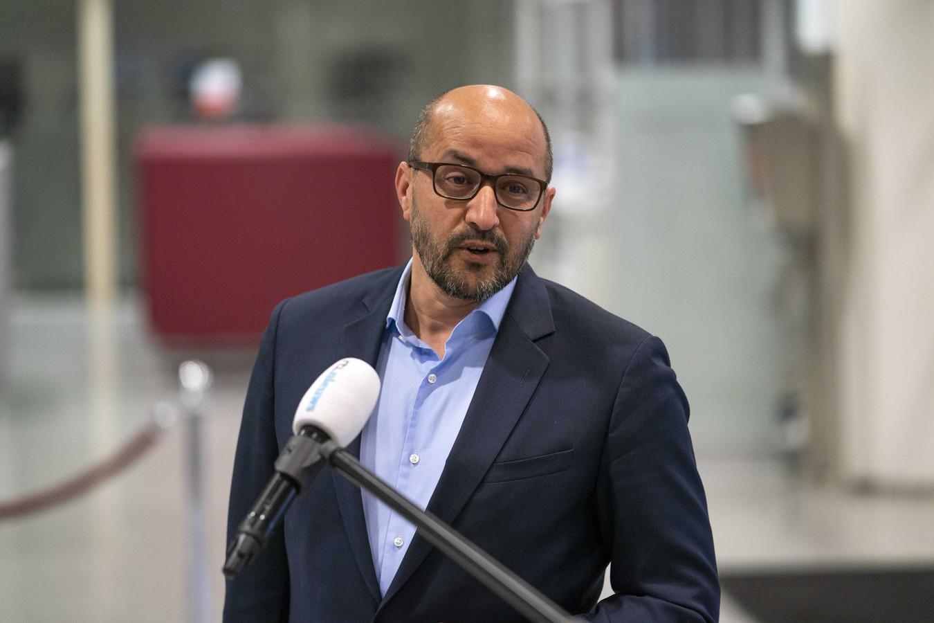 Ahmed Marcouch, burgemeester van Arnhem en voorzitter van de Veiligheidsregio Gelderland-Midden.