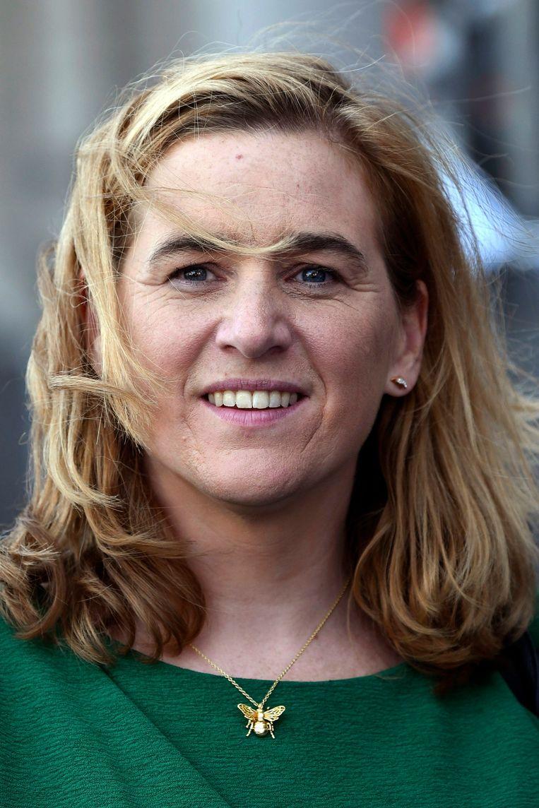 Elke Van den Brandt: 'We gaan in Brussel tijdens deze legislatuur sowieso naar een variabel tariefsysteem voor de vergroening van de verkeersbelasting.' Beeld Photo News
