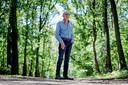 Henk Olthof op de Hellendoornse Berg.