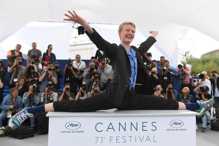 Victor Polster wint Prijs voor Beste Acteerprestatie in Cannes. Beeld Arthur Mola/Invision/AP