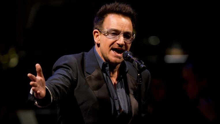 De pionier onder de 'celebrity investors' was U2-zanger Bono. Beeld ANP