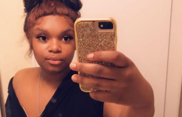 Darnella Frazier, het tienermeisje dat de moord op George Floyd in beeld bracht. Beeld Instagram