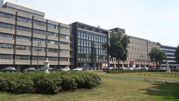 Kantoren aan de Jansbuitensingel in Arnhem die getransformeerd zouden kunnen worden naar woonruimte.