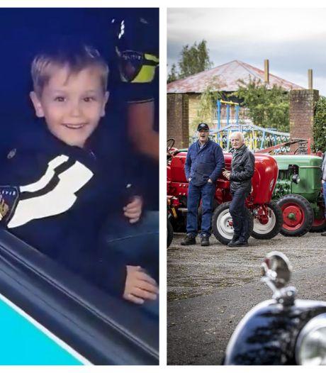 Politiedroom van 'kleine grote vent' komt uit in Almelo & Brownies&downieS naar Twente