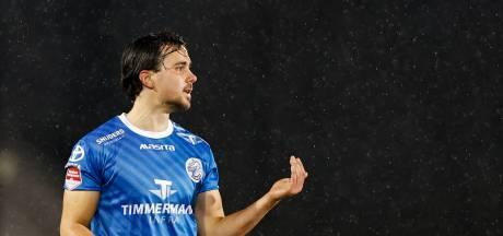 FC Den Bosch-verdediger Mats Deijl hoeft zich niet meer te ergeren voor zijn tv