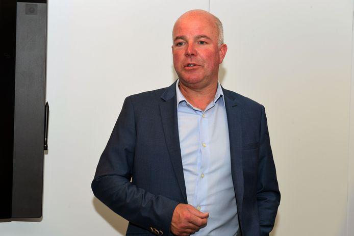 Schepen Johan Geleyns (CD&V) blijft geloven in de shuttledienst tussen parking Vaartkom en het centrum van de stad.