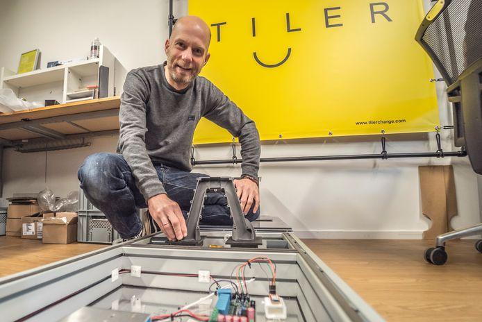 De technologie achter TILER staat bekend als contactless power transfer.