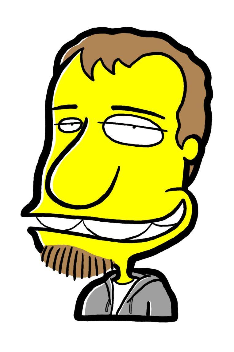 Tjeerd Royaards is politiek cartoonist. Beeld
