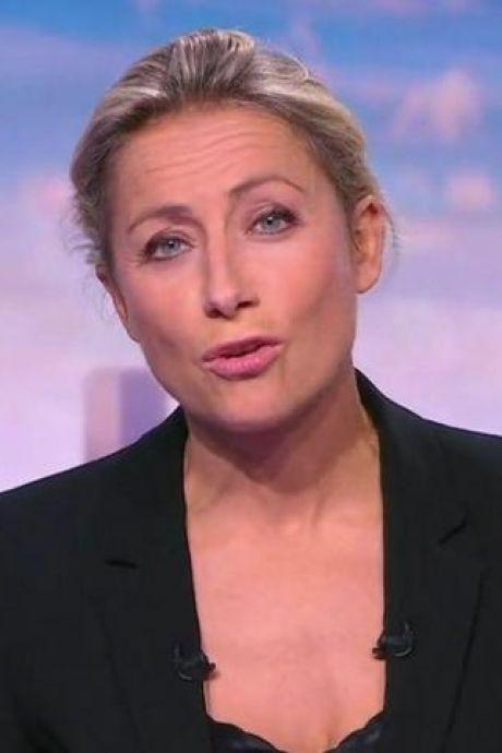 Anne-Sophie Lapix se met à chanter en plein JT: les téléspectateurs se régalent