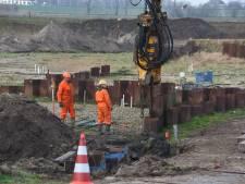 Verwijderen damwanden op terrein Olster Asfalt Fabriek weken eerder klaar