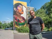Kunstproject La Perla in wijk Buitenhof maakt indruk: 'Een beetje zoals Belfast, maar dan liever'