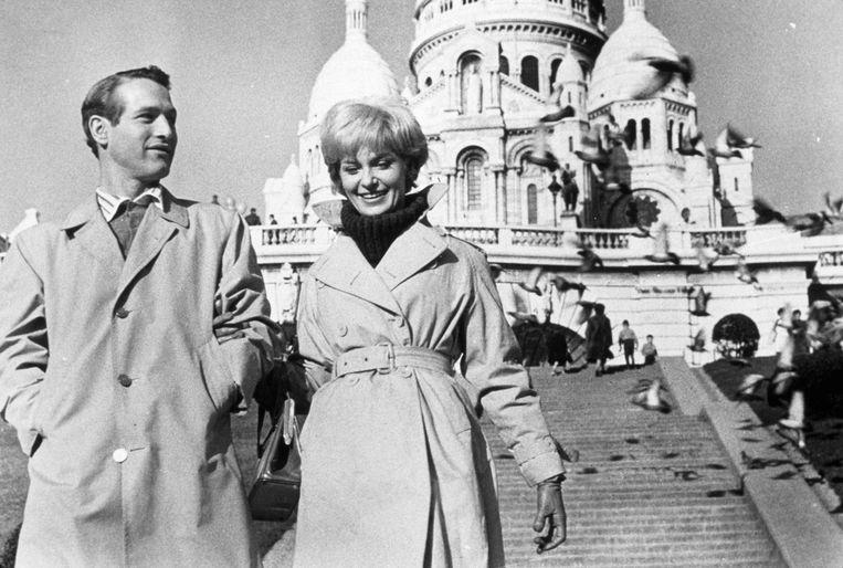 Paul Newman en Joanne Woodward in Paris Blues (1961) Beeld Alamy Stock Photo