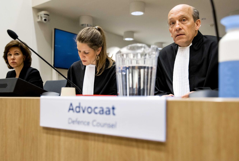 De advocaten van verdachte Oleg Poelatov eerder dit jaar.