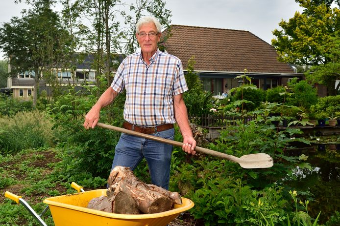 Henk Fokkema lag vorig jaar meer dan 100 dagen in het ziekenhuis met corona.