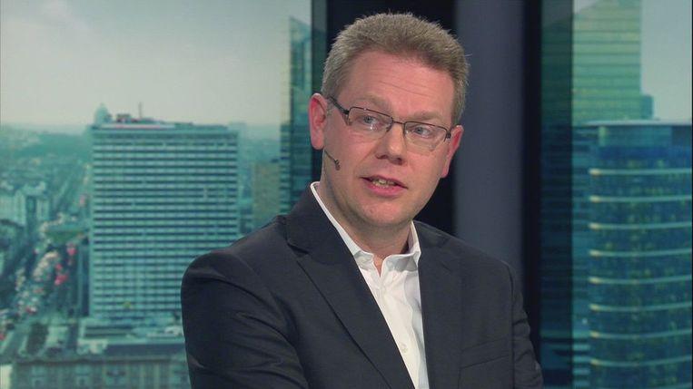 Professor David Criekemans: 'De onthullingen zetten ongetwijfeld druk op de Europese solidariteit en de relatie met de VS. Maar landen zullen het conflict niet op de spits drijven.' Beeld RV