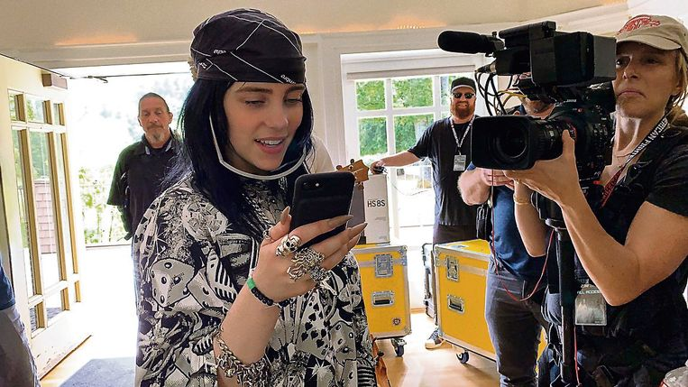 Billie Eilish Beeld Apple TV