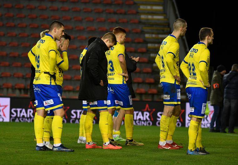 Waasland-Beveren vroeg als eerste voetbalclub technische werkloosheid aan voor zijn spelers. Beeld Photo News