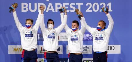 Euro de natation: la Belgique 7e du relais 4x200m libre (messieurs), la Russie sacrée