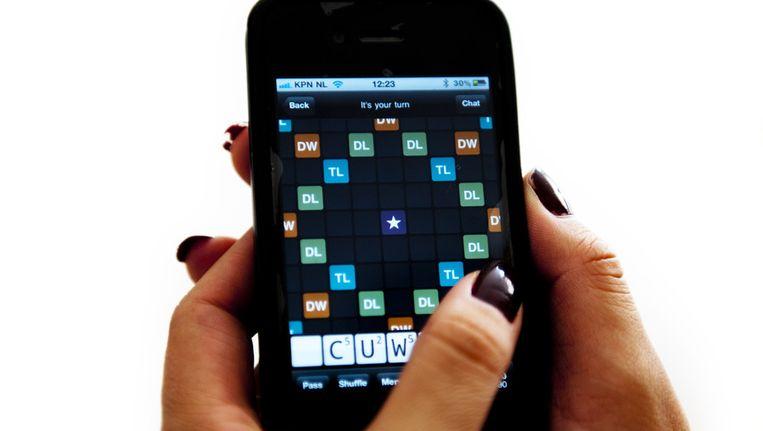 WordFeud is scrabble voor op je telefoon. © ANP Beeld