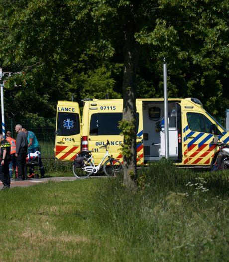 Fietser gewond bij ongeluk met scooterrijder