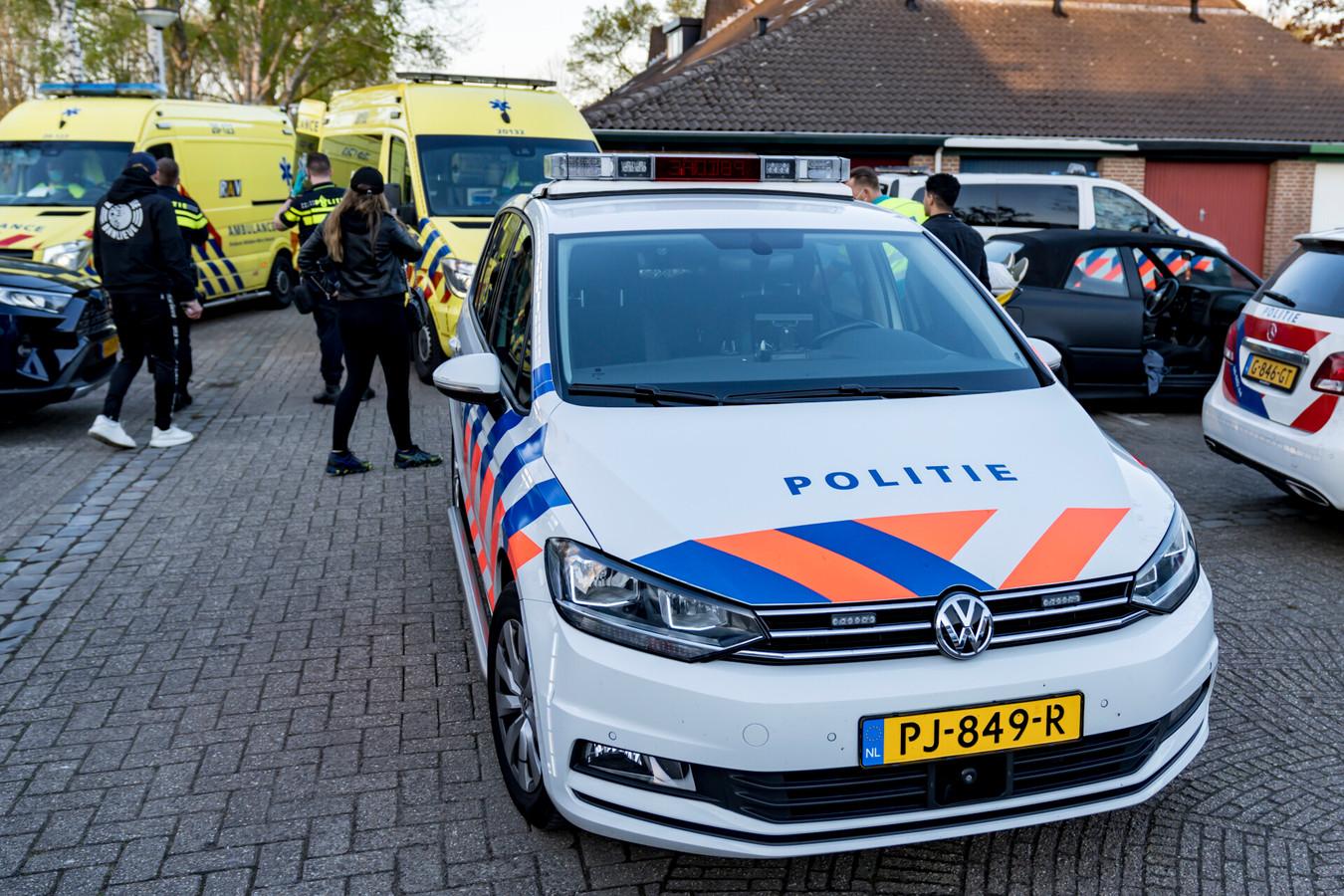 Man raakt woensdagavond rond 20.20 gewond bij steekpartij in Terheijden.