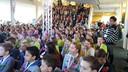 Bijna 500 kinderen waren op de show afgekomen.