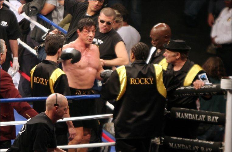 Stallone in 'Rocky VI' Beeld PHOTO_NEWS