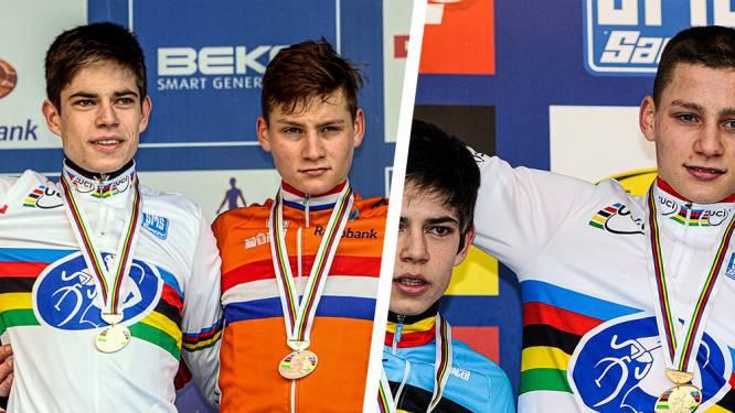 5-4: Van der Poel neemt na nieuwe heerlijke strijd voorsprong op Van Aert