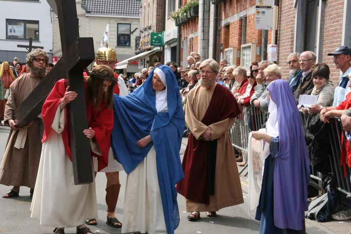 Jezus en familie zullen niet meer door de straten van Lede trekken.