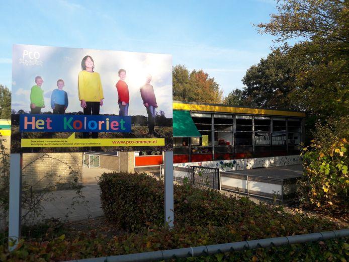 Christelijke basisschool Het Koloriet Ommen is een van de scholen die op termijn verhuist naar het nieuwe Kindplein West in Ommen.