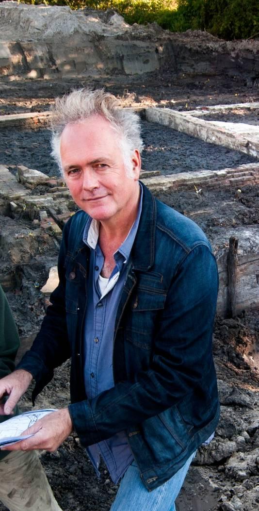 Archeoloog Herre Wynia.