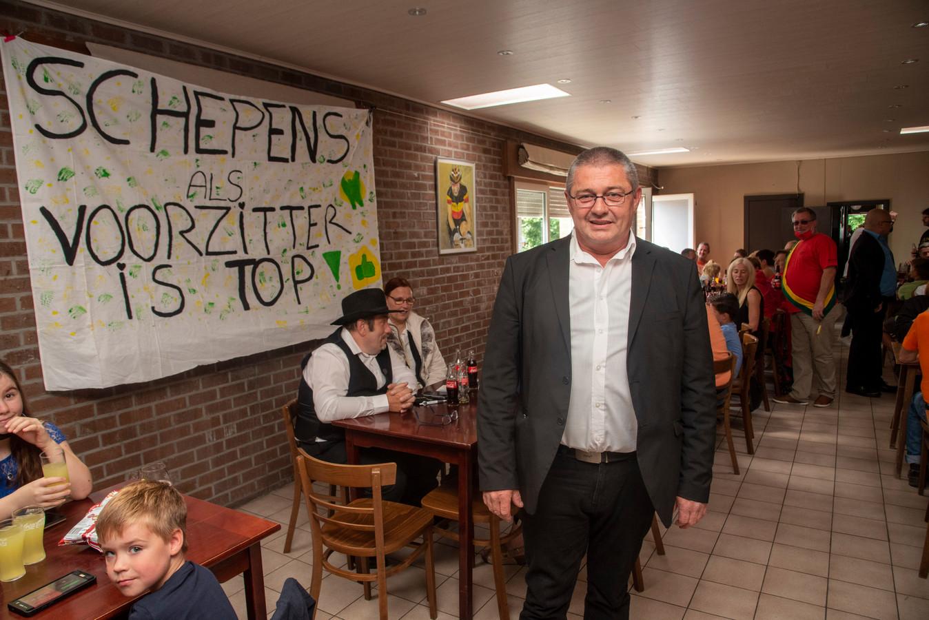 Peter Schepens is de nieuwe voorzitter van het Carnavalcomité Wetteren.