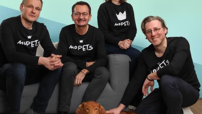 """Facebook voor Fifi: """"Op zoek naar een kiné voor je kat of een leuke gadget voor je hond, via MoPETS kan je het allemaal vinden"""""""