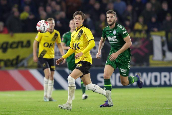 *Jordan van der Gaag* of NAC Breda ,