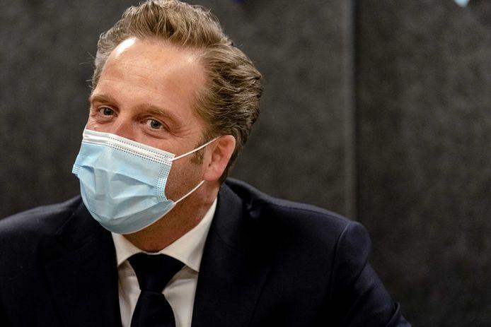 Demissionair minister Hugo de Jonge (Volksgezondheid, Welzijn en Sport).