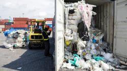 Maleisië stuurt 3.000 ton illegaal plastic terug naar land van herkomst