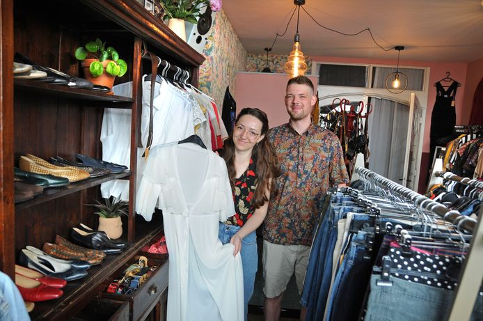 De winkel Daffies Vintage opent vrijdag in Zierikzee.