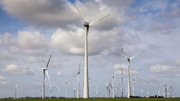 Het halen van het kabinetsdoel van 20 procent duurzame energie in 2020 komt ernstig in gevaar. Foto ANP Beeld