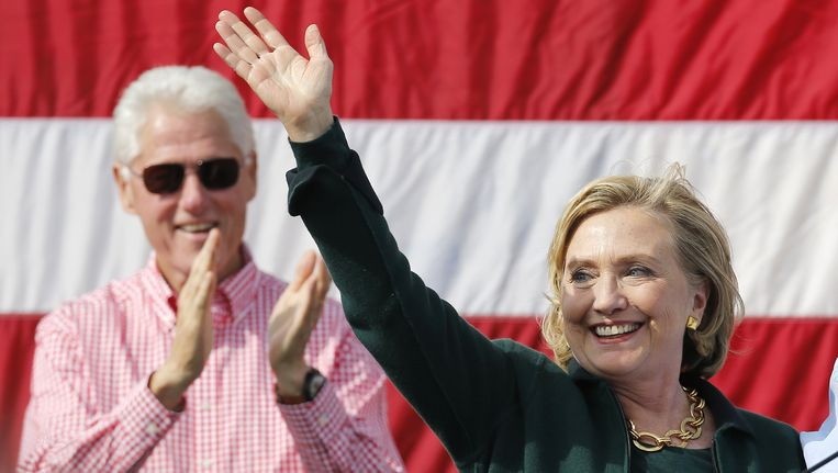 Bill and Hillary Clinton. Beeld REUTERS