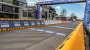 De hekken aan de finish van de E3 Harelbeke.