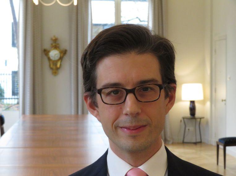 Luis Vassy: 'Trots om Frans te zijn.' Beeld