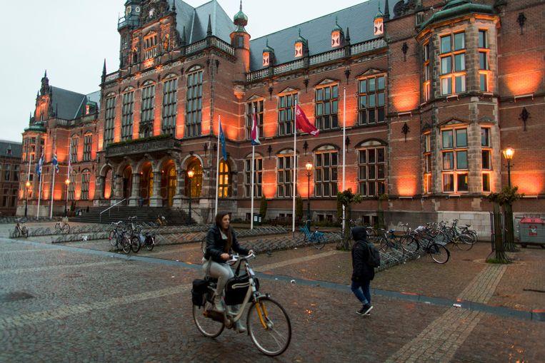 De Rijksuniversiteit Groningen (RUG).  Beeld Ton Koene
