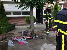 Oplader voor accu vat vlam in woning Rijen, zoon des huizes gewond