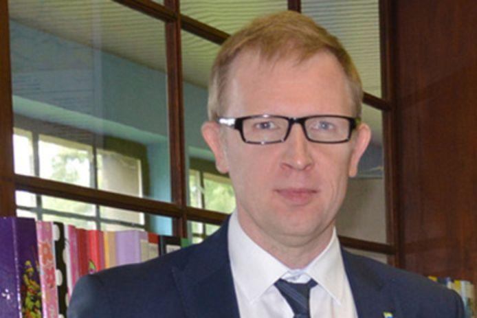 Directeur Peter Van Hove van de Basisschool GO! Atheneum Denderleeuw.