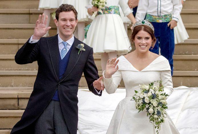 Prinses Eugenie en Jack Brooksbank