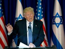 Trump ook in Israël op ramkoers tegen Iran